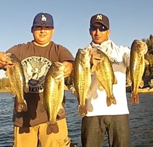 Big Bear Lake Fishing In California