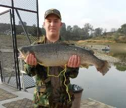 Pardee reservior fishing in california for Lake pardee fishing report