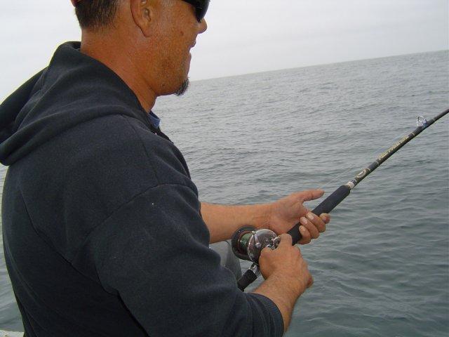 Dana point seabass 7 18 for Deep sea fishing dana point